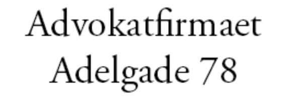 Advokatfirmaet Adelgade 78